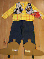 New Disney Store WOODY Cowboy Toy Story Costume  M 7/8