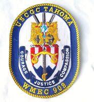 USCG PATCH - USCGC TAHOMA WHEC 908