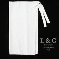 Chef Uniforms: Professional chef White waist apron  L&G