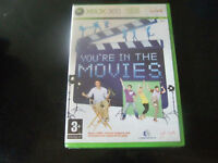 Xbox 360 Game You're In The Movies NEW