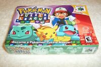 N64 Pokemon Puzzle League - BRAND NEW IN BOX
