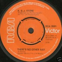 """R&J STONE there's no other way 7"""" WS EX/ uk rca"""