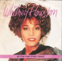 "WHITNEY HOUSTON all the man that i need 7"" PS EX/EX"