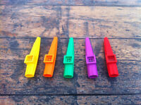 Jim Dunlop Kazoo Red/Purple/Green/Yellow/Orange Made In USA RRP £3.99