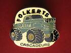 Pins Dragster camion auto voiture FOLKERTS cascadeurs signé Harmonie +