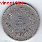 monnaie 5 francs lavrillier 1949