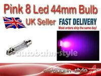 PINK 8 LED INTERIOR 44mm FESTOON BULB SEAT AROSA CORDOBA INCA