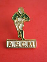 Pins sport rugby ASCM Ecole de Rugby Toulouse Montaudran - Email peint