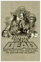 DAWN OF THE DEAD MOVIE POSTER ~ ROOM IN HELL 24x36 George Romero Zombies