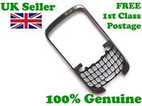 100% Genuine Blackberry 9300 Curve front fascia housing cover chrome gun metal