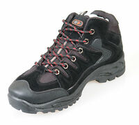 Mens Black Hiking / Trail / Rambling Boots Lace Ups Size 6 7 8 9 10 11 12