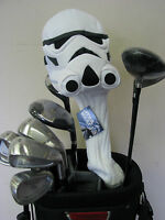 (1) NEW STAR WARS STORMTROOPER  460cc Golf Driver Large Headcover Head Cover