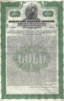 Original Germany Gold Bond 1930 Berlin City Electric Company $1000 Deco coupons