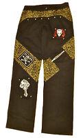 XS PUNK leopard trousers