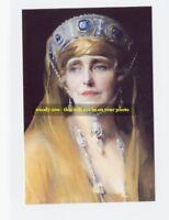 "mm421 - an older Queen  Marie of Romania art portrait - photo 6x4 """