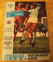 1985/86 DIVISION ONE - MANCHESTER CITY v WEST BROMWICH ALBION