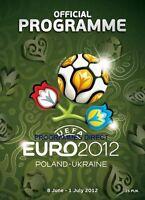 EURO 2012 OFFICIAL TOURNAMENT PROGRAMME ENGLISH LANGUAGE MINT INC ENGLAND