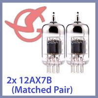 2x NEW Sino 12AX7B ECC83 12AX7 Vacuum Tubes, Matched Pair TESTED