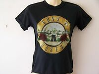 *NEW* GUNS 'N' ROSES GNR DESIGN ROCK MY WORLD LADIES T SHIRT BLACK SIZE XS 6-8