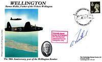 Wellington Cover Signed A Maitland DFC & Bar Pilot Wellingtons 1942