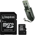 Kingston 8GB 8G Class4 Micro SD Micro SDHC TF Flash Memory Card + R2