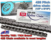 TKR/TKH BRAND 428H x 134 HEAVY DUTY DRIVE CHAIN Superbyke RMR 125 Drum Brake