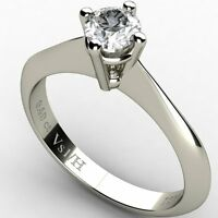 0.40ct Diamond Vs1 H Solitaire Engagement Ring White Solid Gold 18 ct carats