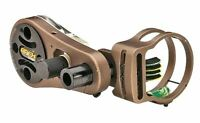 """NEW APEX GEAR TRUGLO ATOMIC 4 PIN .029"""" BOW SIGHT W/ LIGHT AG2504B CLOSEOUT!!!!"""
