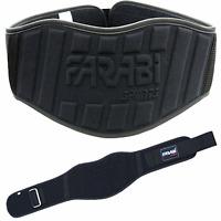Farabi Weight lifting belt training back support gym neoprene light weight