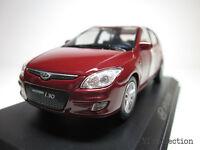 1:38 HYUNDAI i30 Elantra Red MINICAR DIECAST KOREA TOYS SCALE MODEL CARS