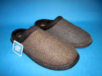 "Clarks ""Kite Turn"" G Width Fitting Mens Mule Slippers"