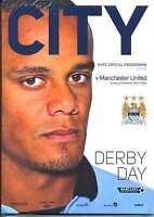MAN CITY v MAN UTD 2012/13 MINT PROGRAMME MANCHESTER