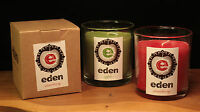 Eden Scented Candles Glass Jar Apple Strawberry Gift Boxed Present