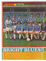 BIRMINGHAM CITY 1979-1980 DOUBLE PAGE TEAM GROUP ORIG HAND SIGNED BY 6 GOOD CON