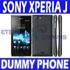 NEW SONY XPERIA J DUMMY DISPLAY PHONE - BLACK - UK SELLER