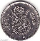 monnaie espagne / spain 5 pesetas 1975 (millésime 1977 ) ( A639 ) voir scan