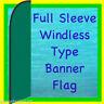 DARK GREEN WINDLESS BANNER FLAG ADVERTISING SIGN Feather Swooper Bow Flutter