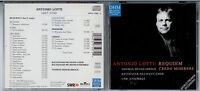 ANTONIO LOTTI: Requiem - CD 1999 Deutsche Harmonia Mundi - Mint