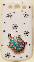 TURTLE Bling Crystal Case Cover for Samsung Galaxy S3 III i9300