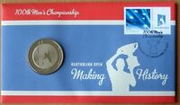 10 X AUSTRALIA OPEN 100TH MENS TENNIS CHAMPIONSHIP 2012 PNC STAMP & $5COIN COVER