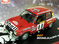 TALBOT SAMBA RALLY Gr.B - 1/43 SCALE MODEL CAR MONTE CARLO RALLY 1984 ROUGET