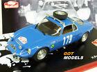 MATRA DJET V 1/43 SCALE MODEL CAR MONTE CARLO RALLY 1966 - PESCAROLO