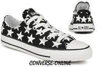 KID Boy Girl CONVERSE All REPEAT BIG STAR LO Black White Trainers Shoe UK SIZE 1