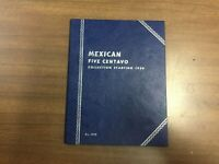 Whitman Folder # 9698 for Mexican 5 Centavo 1954-on