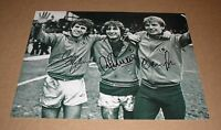 "ASTON VILLA Gibson Shaw Cowans HAND SIGNED Autograph 10"" X 8"" Photo + COA Proof"
