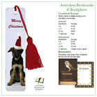 Christmas puppy bookmark