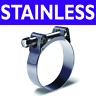T-BOLT STAINLESS STEEL HOSE CLAMP CLIP 17-19 OD FITS 11mm ID HOSE