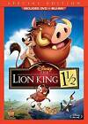 The Lion King 1 1/2 (Blu-ray/DVD, 2012, 2-Disc Set, SPECIAL EDITION)