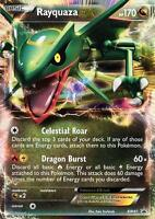 Pokemon Rayquaza Ex BW47 Promo Card FROM Fall Legendary 2012 Collectors Tin