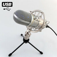 MCU-01 USB Studio Mikrofon Rap, Homerecording, Hiphop Win XP, VISTA, 7,8,10 MAC